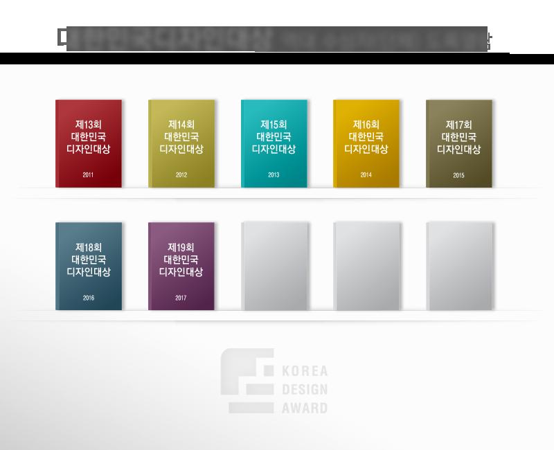 대한민국디자인대상 역대 수상자 도록